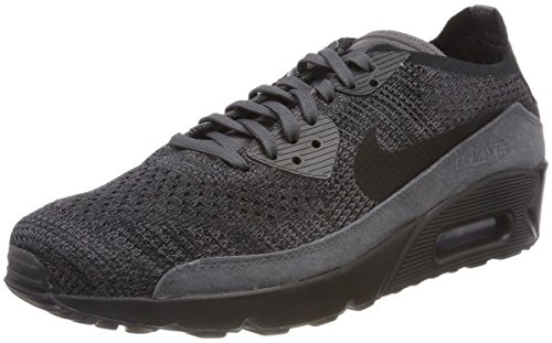 official photos 73125 168ba Nike Air Max 90 Ultra 2.0 Flyknit, Zapatillas para Hombre, Negro (Thunder  Grey