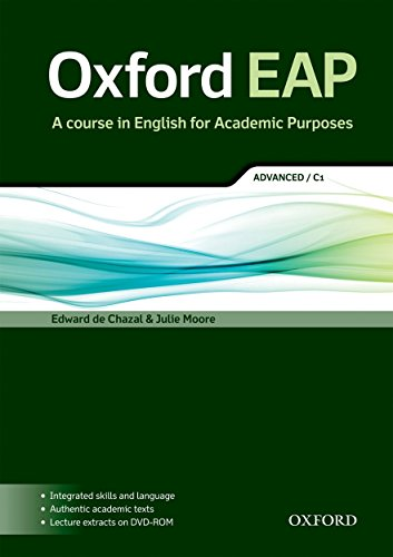 Oxford EAP: Oxford English for Academic Purposes Advanced. Student's Book + DVD Pack