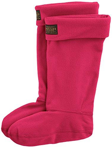 Joules Damen Socken Gr. Small, Rosa - Pink (Ruby) (Fleece Damen Sock Welly)