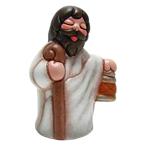 Thun presepe della famiglia figure giuseppe, ceramica, multicolore, 5.5x4.6x7.6 cm