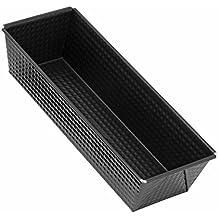 Zenker 6514 - Molde rectangular, 30 cm, color negro