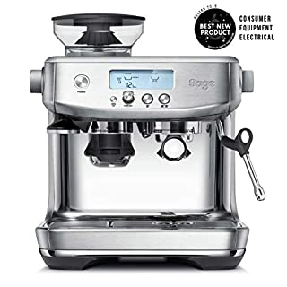 Sage Appliances SES878BSS the Barista Pro Bean to Cup, 1680 W, 2 liters, Brushed Stainless Steel (B07NPDSPKV) | Amazon price tracker / tracking, Amazon price history charts, Amazon price watches, Amazon price drop alerts