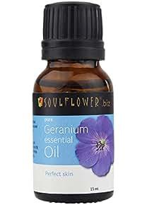 Soulflower Essential Oil Geranium
