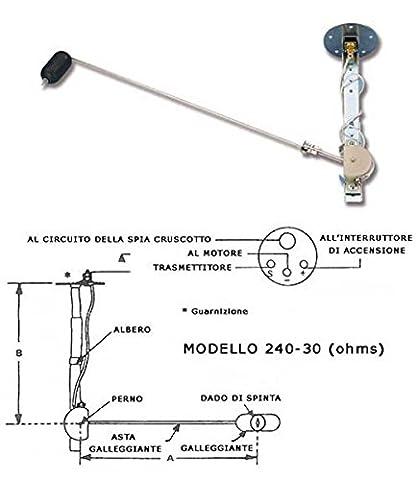 Floating For Fuel Level Indicator Ohms 10–180