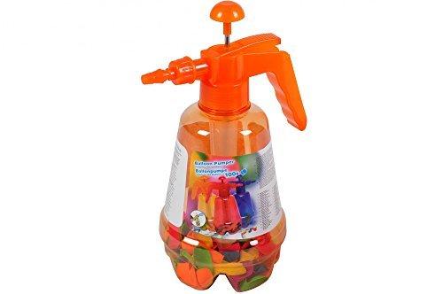 Wasserbomben-Pumpe mit bunten Ballons Füllhilfe Pumpstation Wasserbombe Ballon