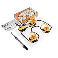 1 stücke magic mini stift automatische induktive spielzeugauto modell serie puzzle folgen jeder gezogen linie spielzeug für kinder jungen kinder