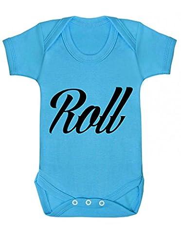 pré-roulés Rock and Roll assorti Twin bébé SE Développe Twins Body Lot de pièces assortis disponibles One Piece Body bébé Body