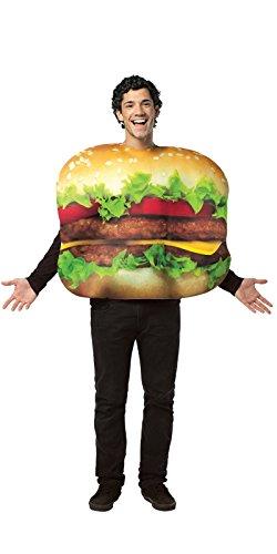 Cheeseburger Faschingskostüm (Erwachsene Cheeseburger Kostüme)