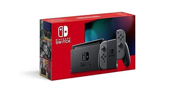 Nintendo Switch Konsole - Grau (neue Edition): Amazon.de: Games