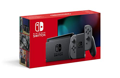 Nintendo Switch Konsole - Grau (neue Edition)