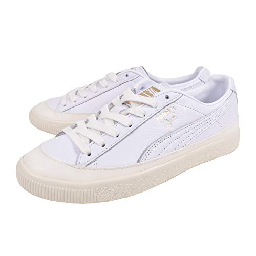 Sneaker Puma Puma Clyde Rubber Toe Lthr White-Whisper 42 EU (9 US   b07f5d34f
