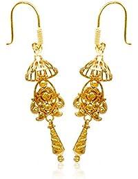 Senco Gold 22k (916) Yellow Gold Drop Earrings