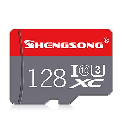 ZYJ Micro SD-Speicherkarte 16 GB / 32 GB / 64 GB / 128 GB Klasse 10 Micro Sd-Karte Flash-Karte für Smartphone/Drive Recorder/Sportkamera,128G -