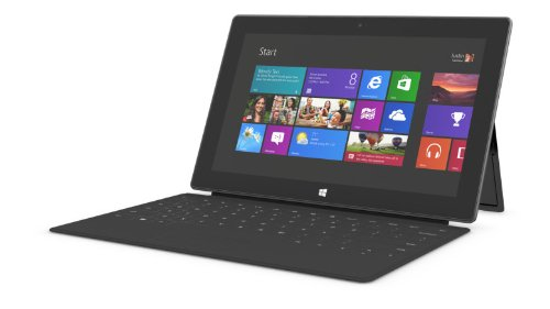Microsoft Surface 64gb Tablet Rt ('Microsoft Surface Windows RT 64 GB Tablet Touchscreen 10.6 NVIDIA schwarz)