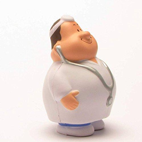 Dr. Bert I Knautschfigur I Stressball I Anti-Stress I Handtrainer I H: 10 cm