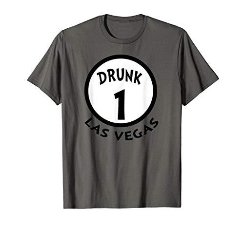 Betrunkene 1 lustige Gruppen-Hemd-Neuheits-Andenken Las Vega