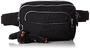 Kipling Women's Multiple Waist Bag Convertible to Shoulder Bag Black