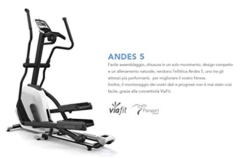 Crosstrainer Andes 5New Horizon Fitness–viafit Connection - 4