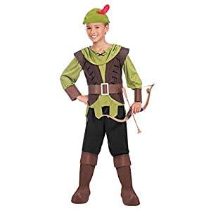 Amscan International- Robin Hood 4-6 Years Disfraz, Color (9904467)
