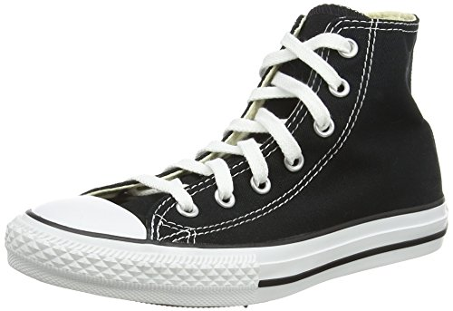 Converse Youths Chuck Taylor All Star Hi, Sneakers bassi Unisex Bambino, Black, 29 EU
