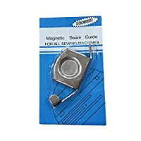 Magnetic Seam Stitch Guide Edges for Sewing Machines