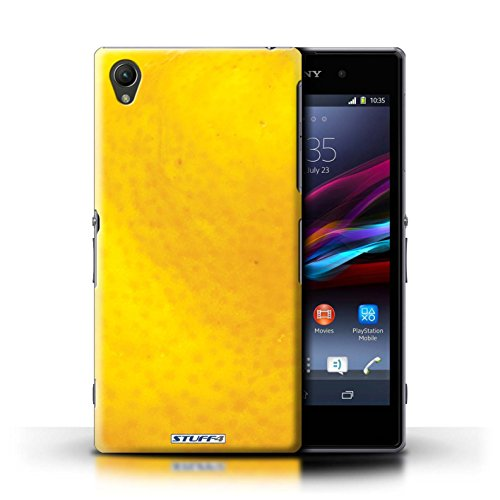 Kobalt® Imprimé Etui / Coque pour Sony Xperia Z1 / Orange conception / Série Fruits Orange / Peau