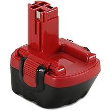POWERAXIS 12V 2.2Ah Ni-MH Reemplazo Batería para Bosch 12V GSB 12VE-2 PSR 12VE-2 PSB12VE-2 BAT043 BAT045 2607335261 2607335262 2607335273 2607335274 2607335374 2607335375