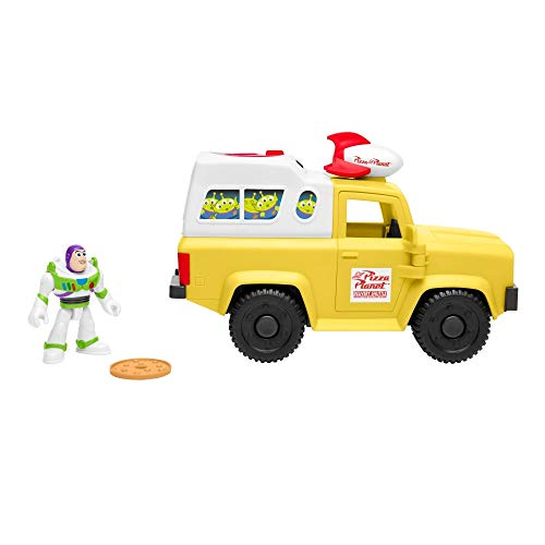 Imaginext Fisher Price Disney Toy Story Buzz Lightyear &...
