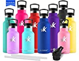 Best Thermos Bottle Caps - KollyKolla Metal Water Bottle Vacuum Insulated Water Bottles Review