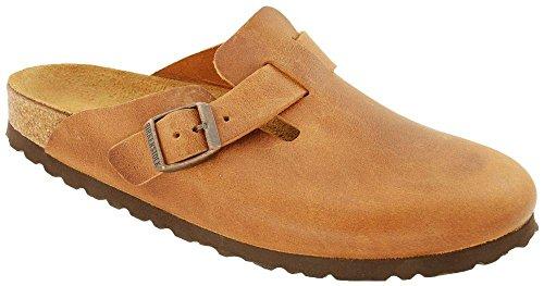 Birkenstock Boston 760893, Chaussures mixte adulte Antique Brown