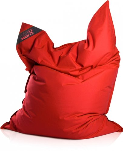 SITTING POINT only by MAGMA Sitzsack Scuba Big Foot 130x170cm rot (Outdoor)