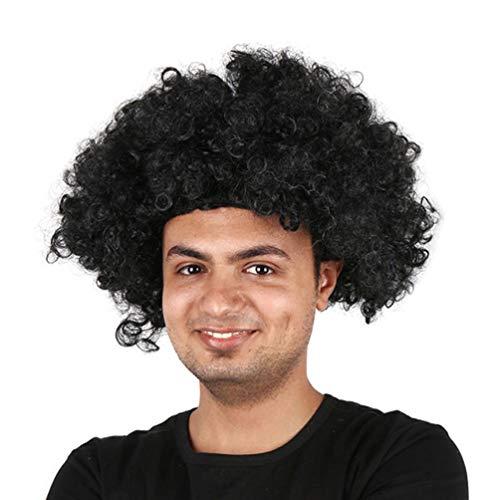 ige wellige Kostüm Funky Perücke Disco Clown Perücken Männer und Frauen Unise Haar Perücke Cosplay Explosive Kopf Perücke Fans Crazy Funny Perücke für Kinder Urlaub,#8 ()