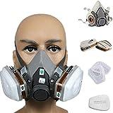 Fullein 7 1 Metà Maschera Viso Abito per 3 MT 6200 Gas Spray Pittura Protezione Maschera Protezione Respiratoria