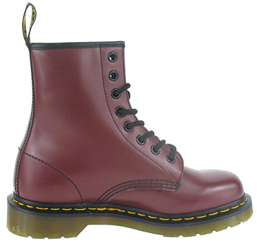Dr. Martens 1460 Smooth, Scarpe Stringate Basse Brogue Unisex – Adulto Brown