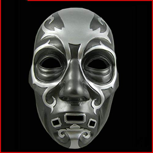 PPO Harry Potter Maske Malfoy Maske Lucius Handwerk Harz Maske Cosplay