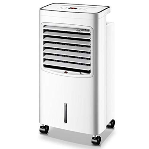 Breeze Klimaanlage (Whirlwind Mobiles Klimagerät Tragbarer Luftkühler Klimaanlage Lüfter Kühlen Und Heizen Dual-Use-6-Dateien Windgeschwindigkeit 15H Timing , Für Den Heim- Oder Bürogebrauch, Weiß + Schwarz Luftkühler)