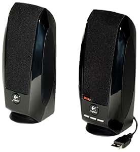 Logitech S-150 - loudspeakers (Tabletop/bookshelf, Universal, Wired, USB, 90 - 20000 Hz, Black)