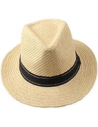 Dantiya Sombrero Panamá/Sombrero cowboy Adulto unisex Nuevo 2016 (Caqui)