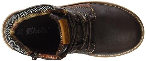 Cheiw Jungen 47214xw Schuhe NAPA PU MARRON OSCURO / SERRAJE PU MARRON OSCURO