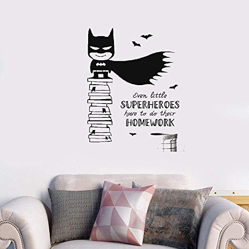 Wandaufkleber Kinderzimmer Wandtattoo Kinderzimmer Batman Superhero Home Decor Qualität für Kinderzimmer Kinderzimmer