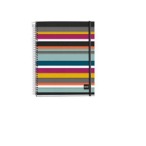 Miquelrius 2798-Ersatzteil 4Polypropylen Oslo M (DIN A5, 148x 210mm, 120Blatt, 90g/m², kariert)