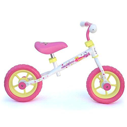 D'Arpèje - Hello Kitty - OHKY43 - Vélo et Véhicule pour Enfants - Draisienne Aluminium avec Roues Pleines en PVC