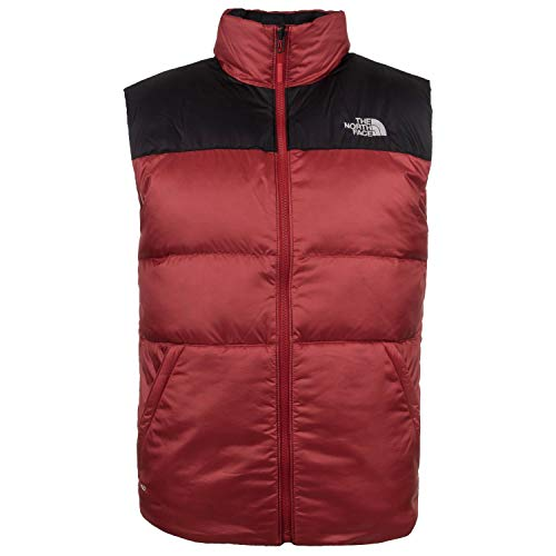 b384020e18 North Face Nuptse III Body Warmer Medium Rage Red TNF Black