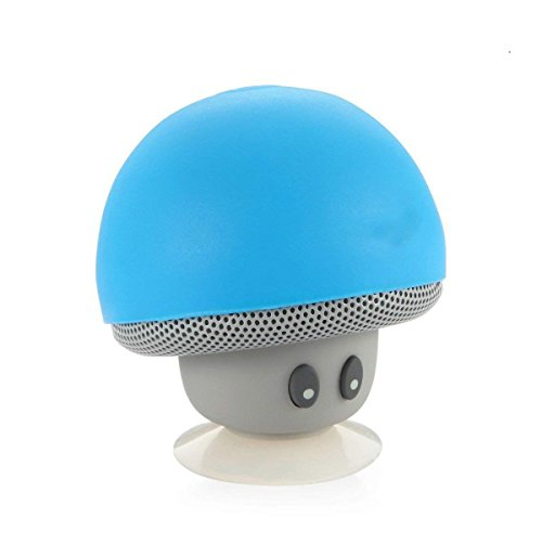 Aussel tragbare Mini Entzückende Mushroom drahtlose Bluetooth Lautsprecher für iPhone / iPad / Die meisten Smartphone / Laptops / Notebooks / Netbooks / Tablets mit bluetooth Funktion (Ipad Cash Box-für)