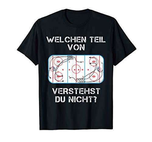 Lustiger Eis Hockey Spruch Shirt Fan Spieler Trainer - Lustige Hockey-t-shirts