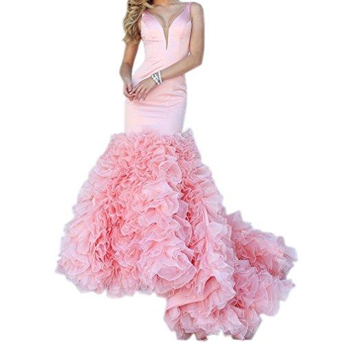 Fanciest -  Vestito  - linea ad a - Donna Pink