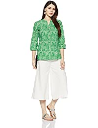 Myx Women's Straight Cotton Kurta