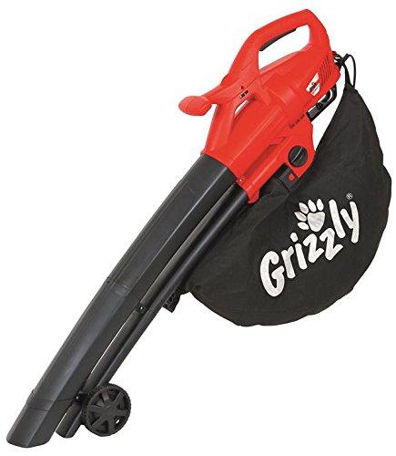 Grizzly Aspiratore Soffiatore Aspirafoglie ELS 2614-2 E, da 2.600W, 40L