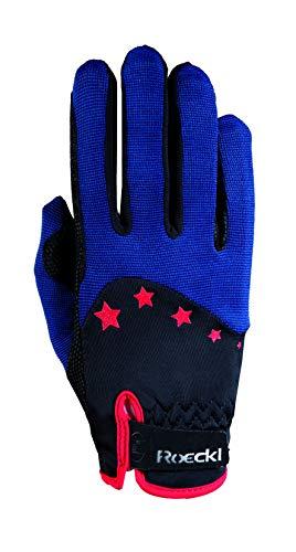 Roeckl Sports Teenies Handschuh Toronto, Reithandschuh Jugendliche, Marine, 6,5