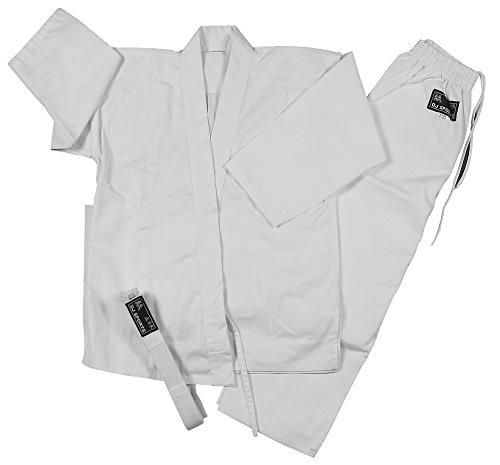 NEU Karateanzug Standard Karate Anzug Gr . 110 bis 200 kampfsport Kampfsportanzug